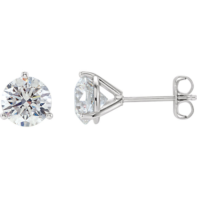 Diamond Stud Earrings 0 40cttw