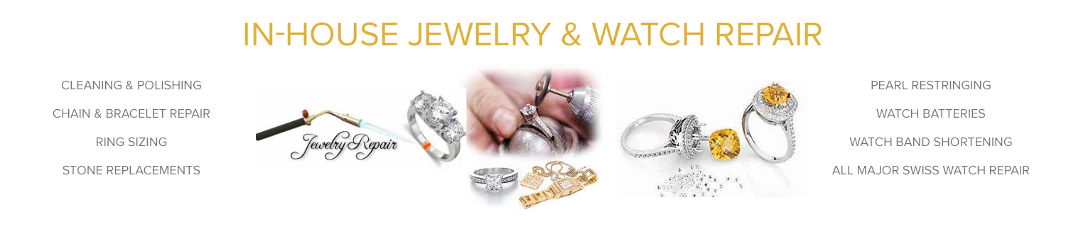 In-House Jewelry & Watch Repair